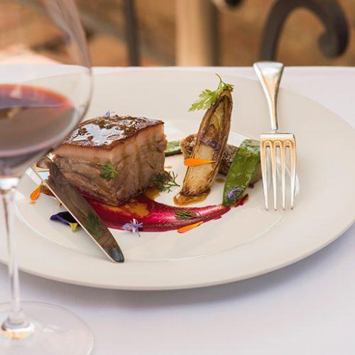 Poggio Rosso Restaurant Beautiful Dish Gourmet