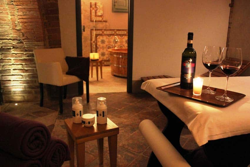 wine therapy in tuscany