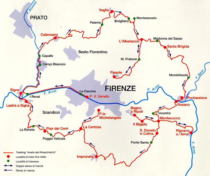 Walking Routes in Tuscany
