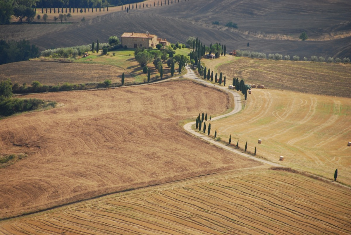val d'orcia UNESCO Sites in Tuscany