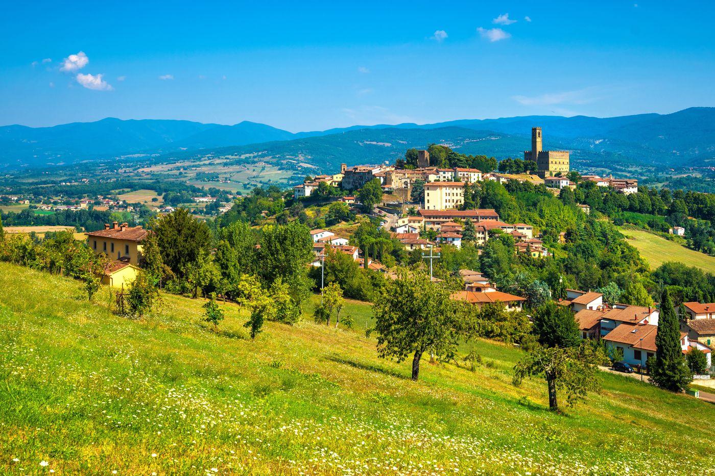Poppi: village in Tuscany